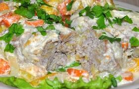 Котлеты из мяса с картофелем, таркованцы