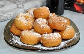 Творожные пончики воздушные