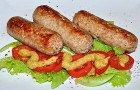 Баварские колбаски домашние