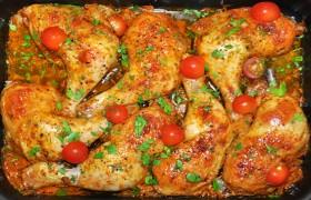 Куриные окорочка, запеченные в рукаве