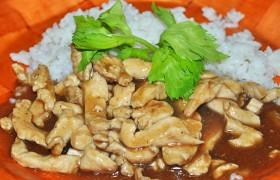 Куриное филе стир-фрай с соевым соусом