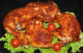 Куриные окорочка с чесноком и паприкой