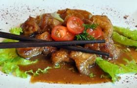 Свинина с тайским соусом