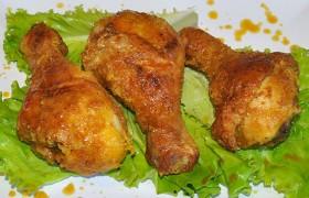 Куриные ножки с вкусной корочкой