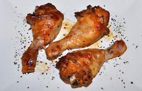 Куриные ножки в медовом маринаде