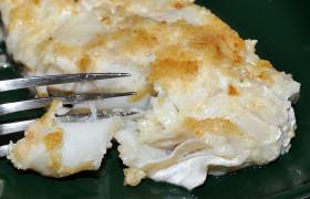Рыба, запеченная в хлебной корочке